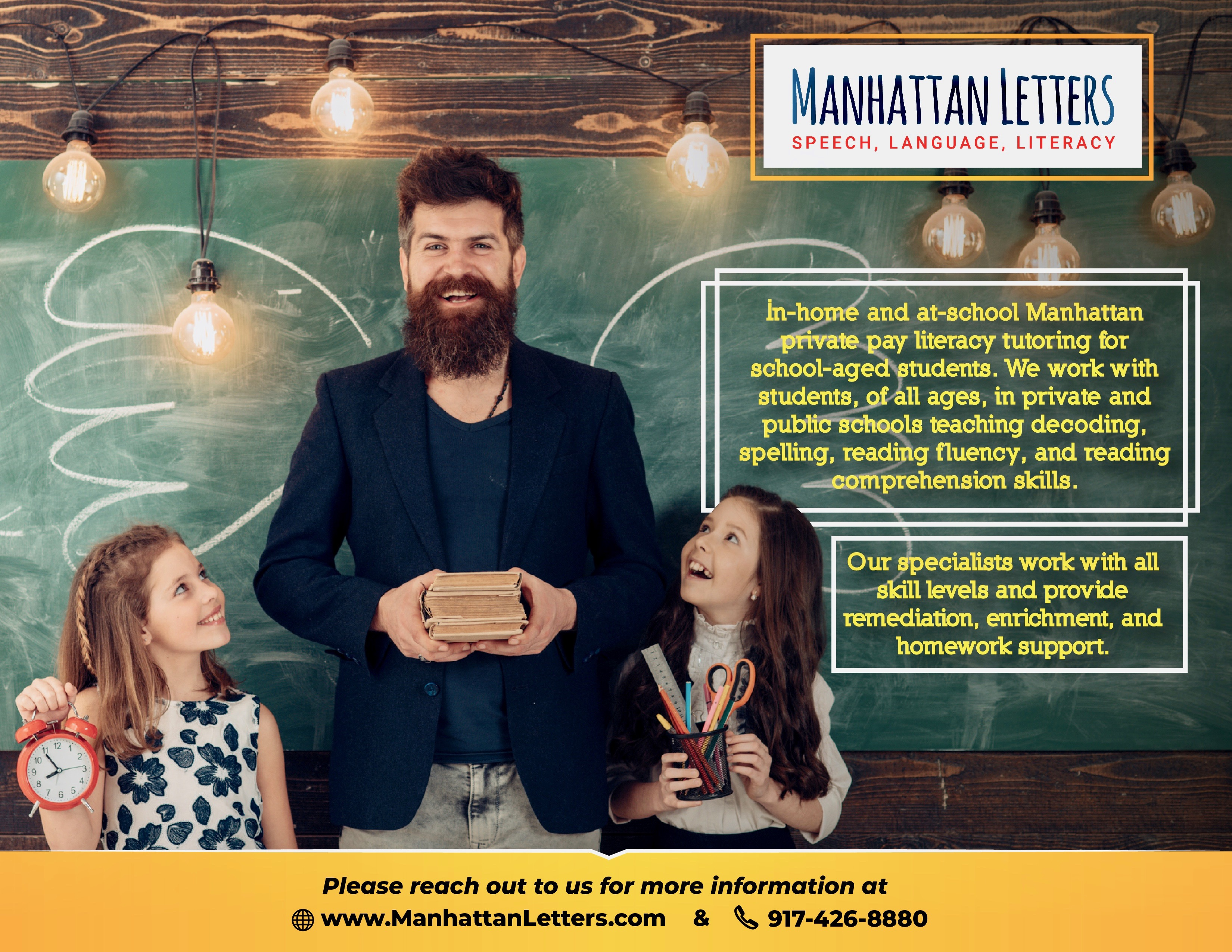 Manhattan Reading Tutors and Specialists